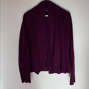 Cashmere Cardigan without Buttons